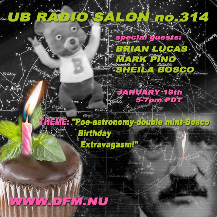 UB Radio Salon -  Sunday, January 19th  (5-7pm) pacific time!