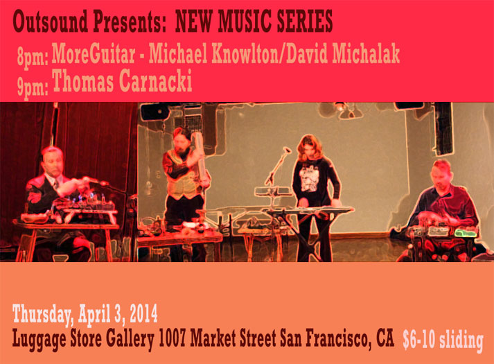 Thomas Carnacki @ Luggage Store Gallery, SF